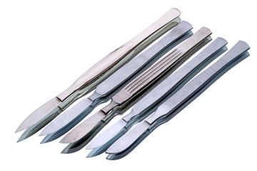 Five scalpels