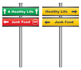 Junk food or a healthy life