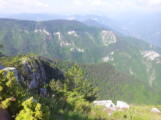 Rhodopes montain bulgaria