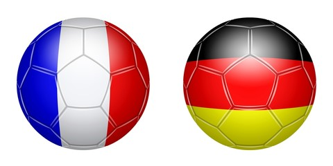 Football. France - Germany