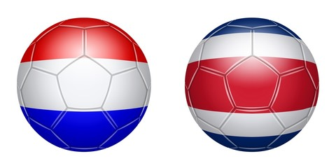 Football. Netherlands – Costa Rica