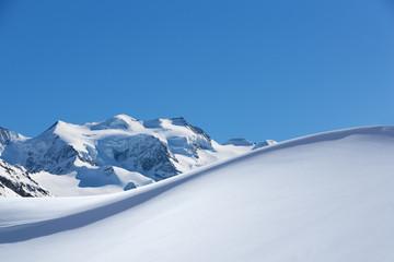 Schneewehe Bernina