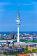 canvas print picture - Fernsehturm Hamburg