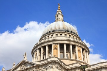 London, UK - Saint Paul's Cathedral