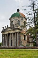 Римско-католическая церковь в Подгорцах, Украина