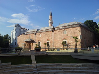 Mosque in Plovdiv city