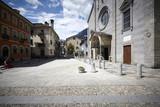 Fototapety Domodossola, historic Italian city