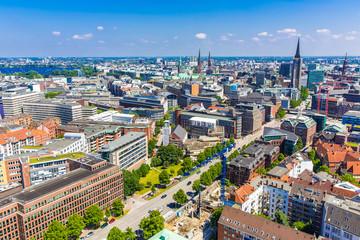Stadtblick Hamburg, Deutschland