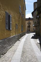Domodossola, historic Italian city