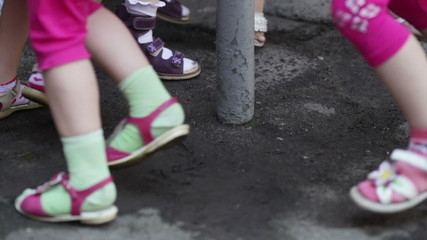 Children's feet