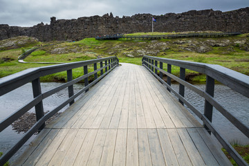 National Park of Thingvellir (Iceland)