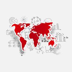 Drawing business formulas: map