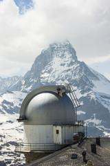 Sternwarte auf dem Gornergrat ob Zermatt