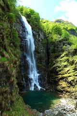 Wasserfall im Hochgebirge