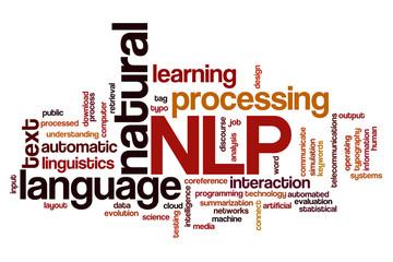 Natural language processing word cloud