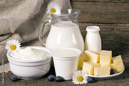 Rural dairy products - 66795352