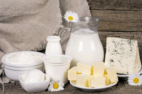 Rural dairy products - 66795357