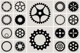 Mechanical Cogs and Gear Wheel Set