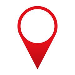 Icono localizacion rojo