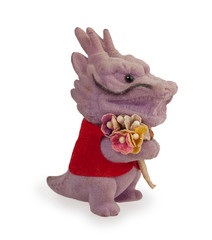 purple dragon toy