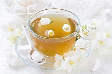 Cup jasmin tea