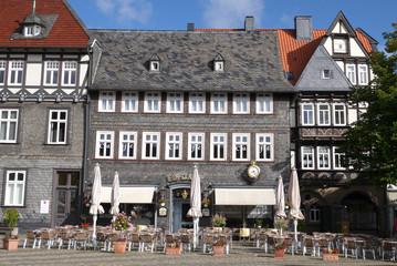 Eis essen in Goslar