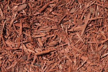 Red Cedar Mulch Background
