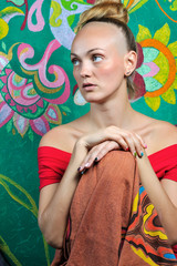 Buddhist girl