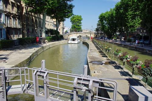 Fotobehang Kanaal canal du midi