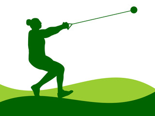 Illustration - Hammer Throw