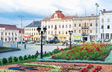 The Chernivtsi cityscape