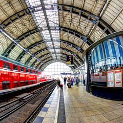 Viaggiare in treno a Berlino in Germania