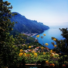 A beautiful Ravello morning at Amalfi coast