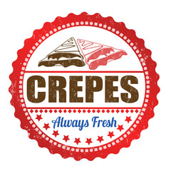 Crepes stamp