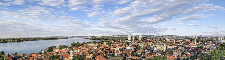 Zemun Panorama Viewed From Gardos Tower