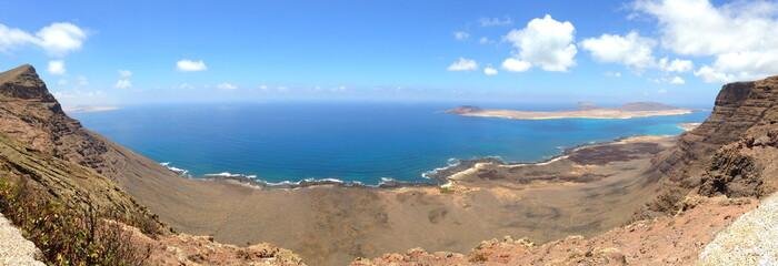 Ausblick auf Isla Graciosa von Lanzarote