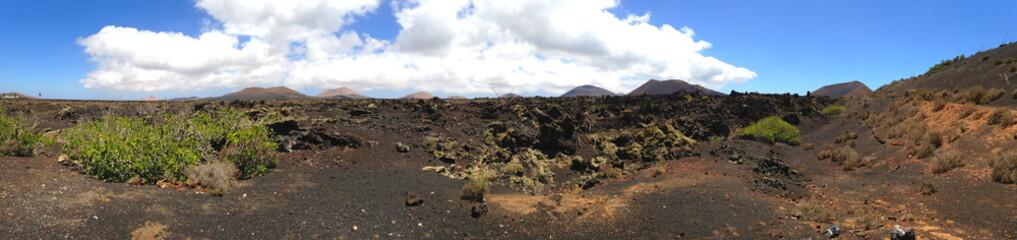 Vulkangestein auf Lanzarote