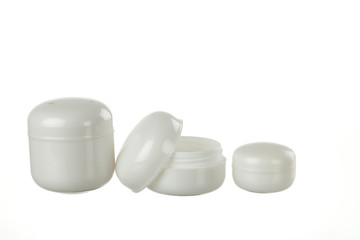 plastic container for ointment