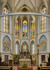 Church interior St.-Servatius