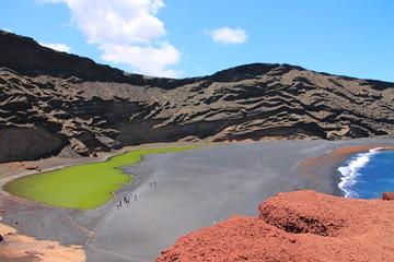 Kratersee Lago Verde, Lanzarote