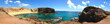 canvas print picture - Punta del Papagayo, Lanzarote