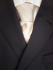 mens jacket shirt and tie