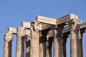 Le temple de Zeus Olympien