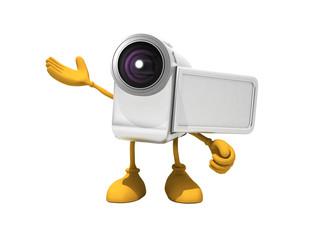 ビデオカメラキャラクター