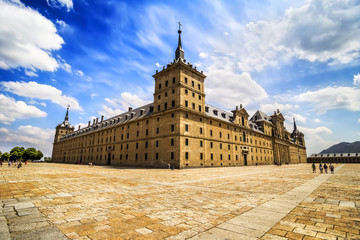 Royal Monastery of San Lorenzo de El Escorial near Madrid, Spain