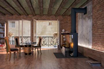 Restorated Apartment