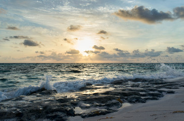 Sunrise on the Atlantic Ocean, Eleuthera Island, Bahamas