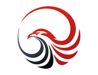 hawk logo,bird,eagle symbol,media modern business icon