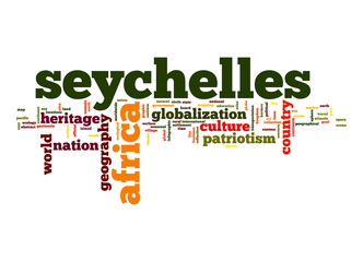 Seychelles word cloud
