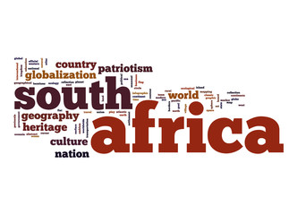 South Africa word cloud